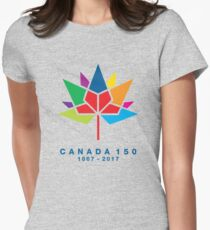 Canada 150 Women's Fitted T-Shirt