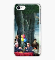 Stephen Hawking's Party  iPhone Case/Skin