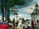 Stephen Hawking's Party  by Nadya Johnson