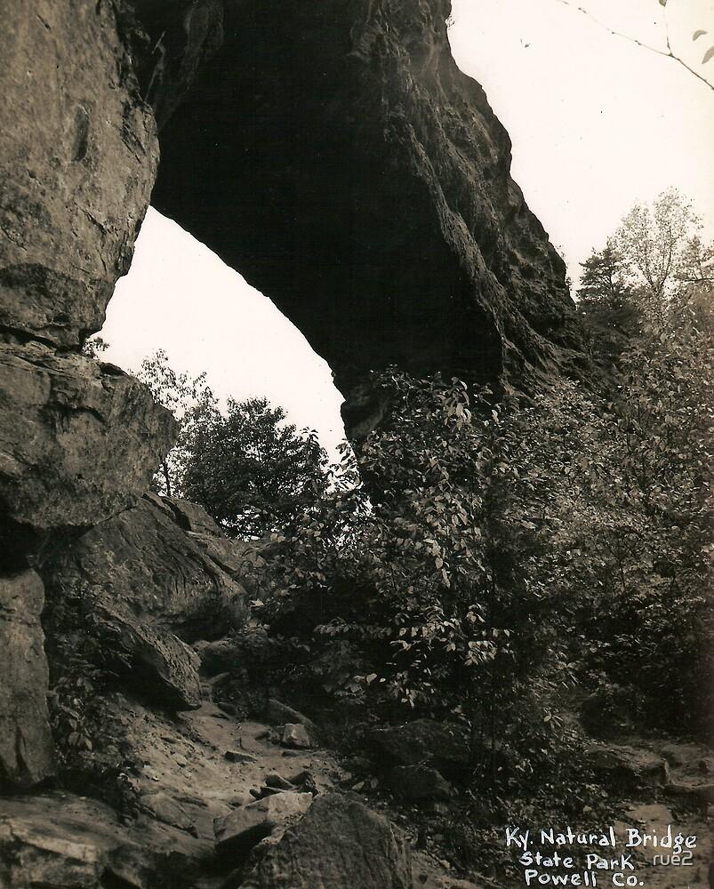 natural bridge in kentucky by rue2