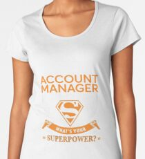 ACCOUNT MANAGER Women's Premium T-Shirt