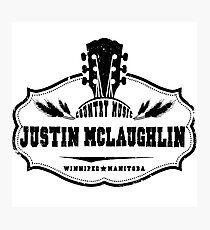 Justin McLaughlin Photographic Print