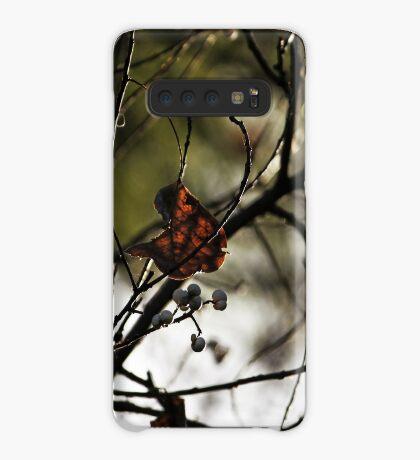 Still Hanging-Winter Series- Hülle & Klebefolie für Samsung Galaxy
