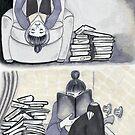 Book Vampire by ThisSucksAComic