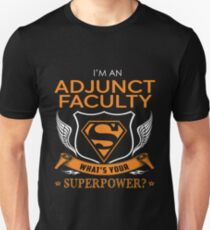 ADJUNCT FACULTY Unisex T-Shirt
