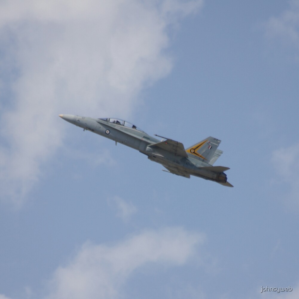 F/A-18 Hornet by johnsyweb