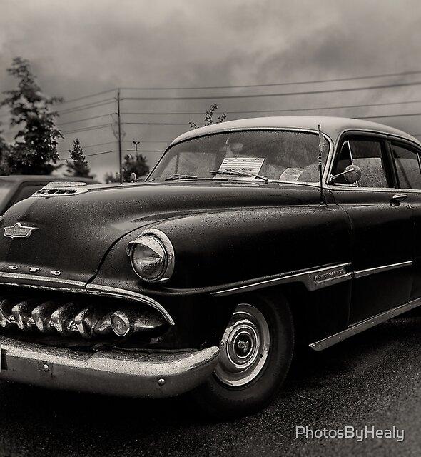 1954 Desoto Powermaster - B&W by PhotosByHealy