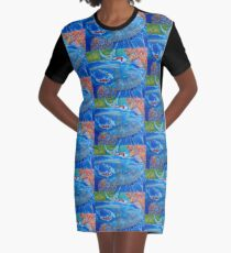 With Every Breath Graphic T-Shirt Dress
