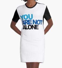 You Are Not Alone - Dear Evan Hansen Graphic T-Shirt Dress