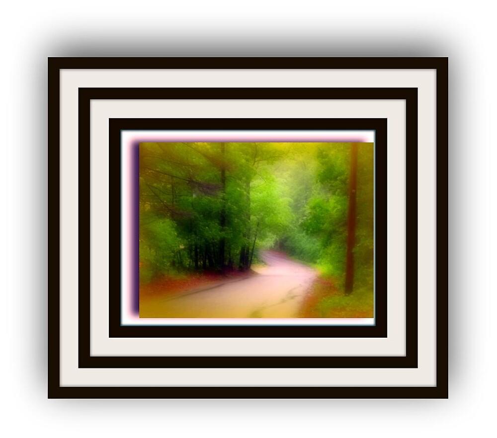 Forest frame by Devabrata