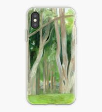 Vermont, shady trees iPhone Case