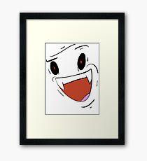 HEY YOU ßOi Framed Print