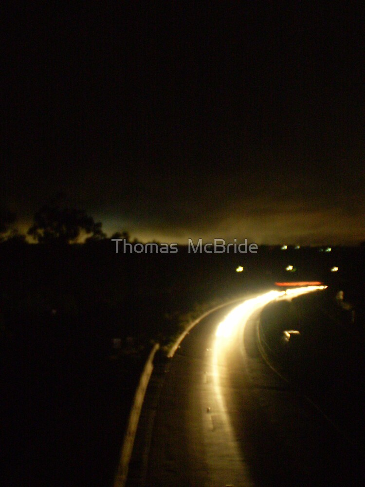 Lights Out On The Highway by Thomas  McBride