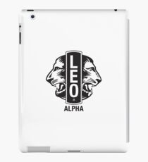 LION PEOPLES  iPad Case/Skin