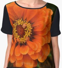 Zinnia - California Giants Chiffon Top