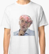 Jeremy Corbyn Flower Crown Classic T-Shirt