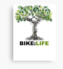 BIKE:LIFE tree Canvas Print
