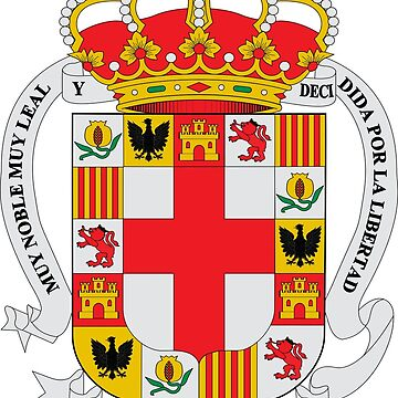 Coat of Arms of Almeria, Spain by Tonbbo