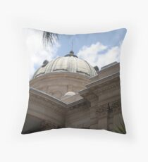 Customs House Throw Pillow
