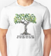 Bike Tree Unisex T-Shirt