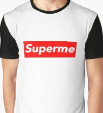 Superme Graphic T-Shirt