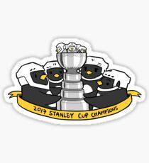 2017 champions Sticker