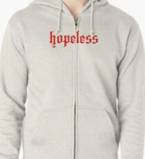 hopeless Zipped Hoodie