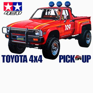 58028 Toyota 4x4 Pickup by pandagfx