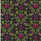 Boho Blumen von Jacqueline Hurd