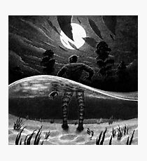 Drawlloween 2014: Creature from the Black Lagoon Photographic Print
