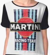 Vintage Martini Racing Chiffon Top