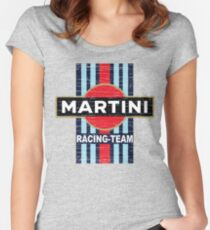 Vintage Martini Racing Women's Fitted Scoop T-Shirt