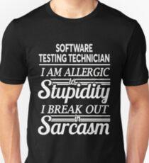 SOFTWARE TESTING TECHNICIAN Unisex T-Shirt