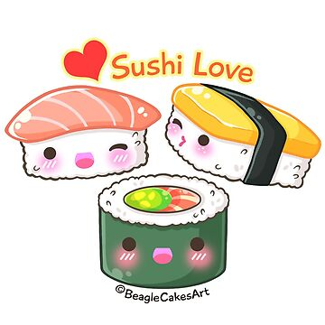 Sushi Love by beaglecakes