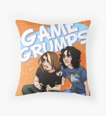Game Grumps Throw Pillow