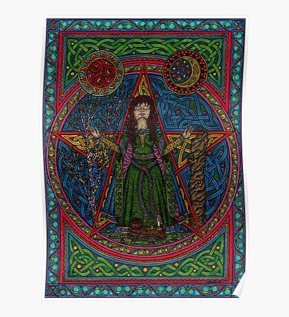 Hedgewitch Pentagram Poster
