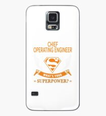 CHIEF OPERATING ENGINEER Case/Skin for Samsung Galaxy