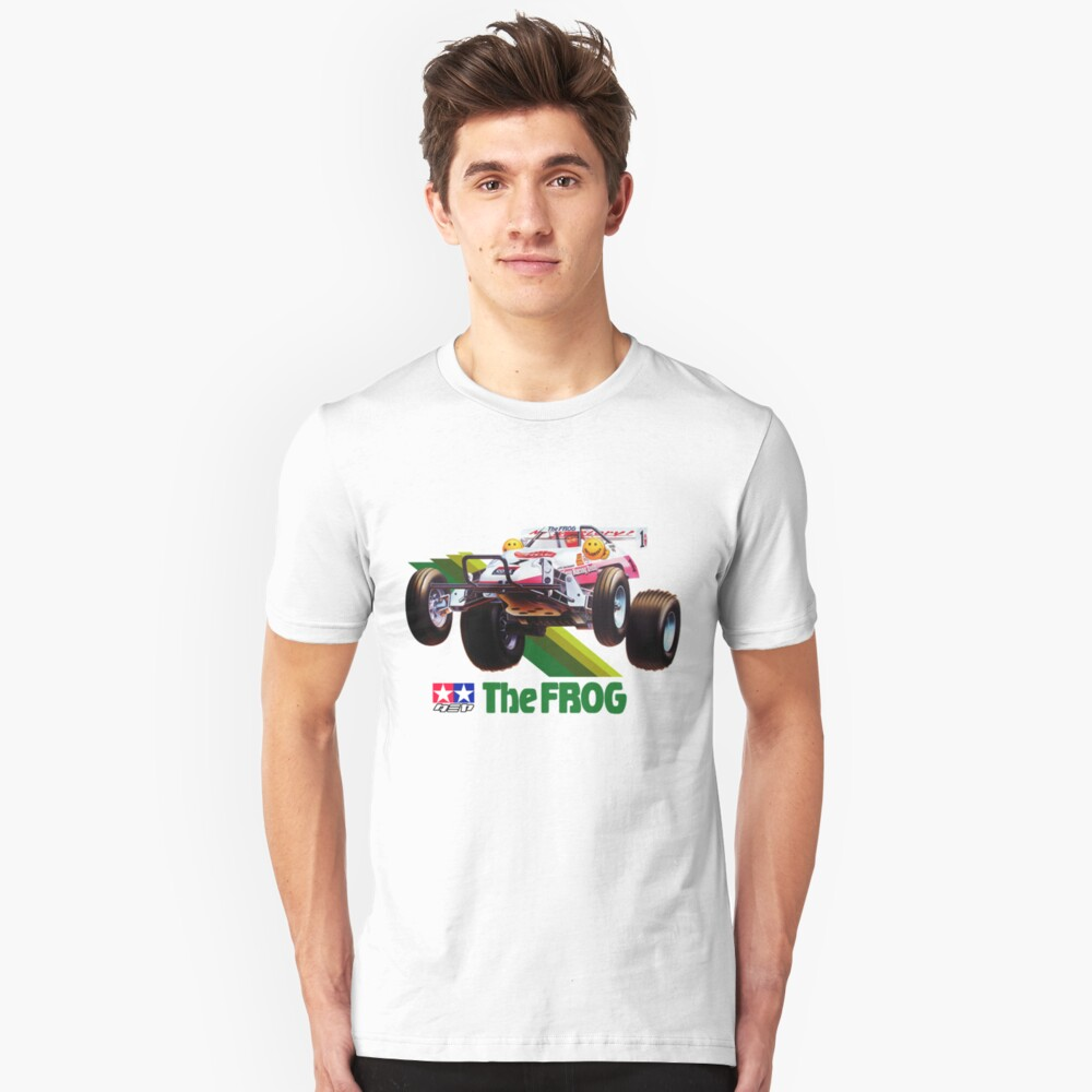58041 58354 The Frog Unisex T-Shirt Front