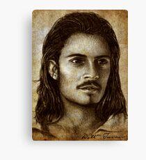 Orlando Bloom as Will Turner Canvas Print