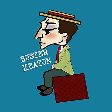Buster Keaton by dodadue89