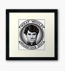What Would Muad'Dib Do? Framed Print