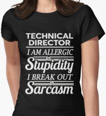 TECHNICAL DIRECTOR Women's Fitted T-Shirt