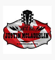 Justin McLaughlin Canada Photographic Print