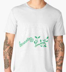 Weekend Forecast Genealogy T Shirt Men's Premium T-Shirt