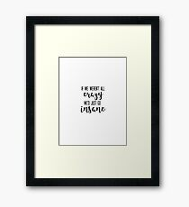 JIMMY BUFFET - Changes in Latitude - If We Weren't All Crazy We'd Just go Insane Framed Print