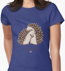 Hedgehugs Womens Fitted T-Shirt