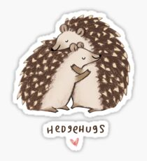 Hedgehugs Sticker