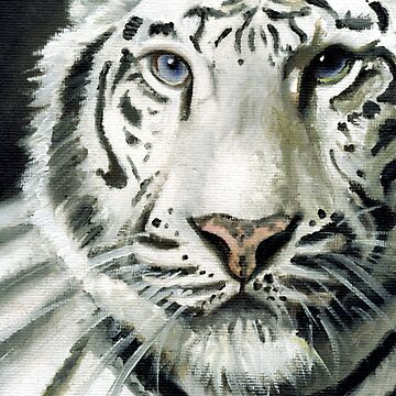 White Tiger by Hiki