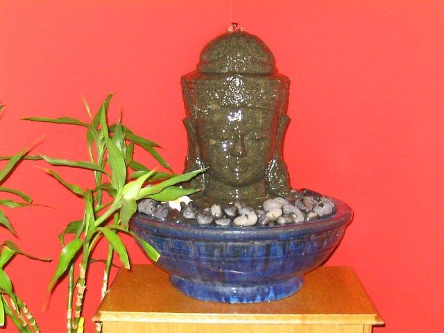 Buddha Head I by Alice Chai