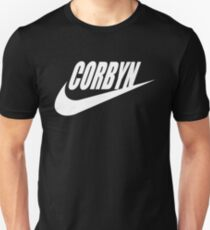Corbyn Name Logo White Version T-Shirt